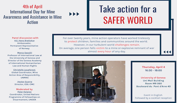 ICBL Global Action for Mine Awareness Day